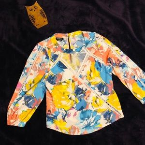 Bebe colorful blouse